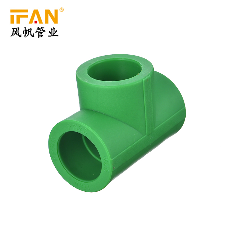Equal Tee PPR Fitting DN20 DN25 DN32 PPR Pipes Fitting