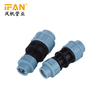 Reduce Coupling 20mm-63mm HDPE Pipe Fitting Light blue Polyethylene Fitting