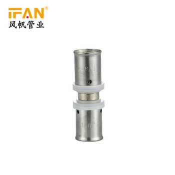 More Than 20 Years Experience Factory Supply Pex Plastic Pipe Brass Press Fitting Adapter Plumbing Materials