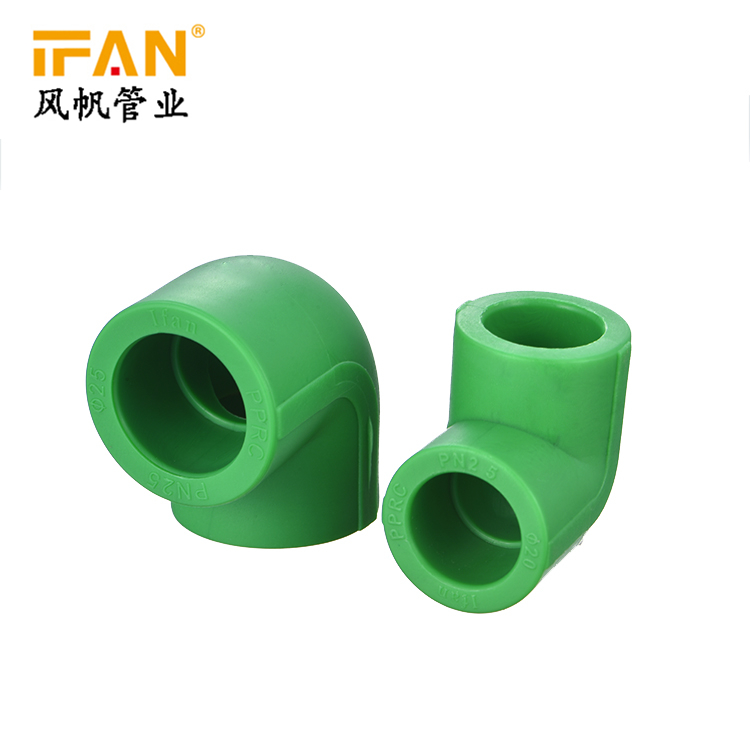 90 Degree PPR Elbow PN25 PPR Pipes Fitting Polyethlene Pipe Fittings