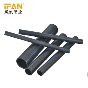 75mm-500mm Big Diameter Pipe HDPE Pipes PE Drip Irrigation System Greenhouse Irrigation Plastic Pipe