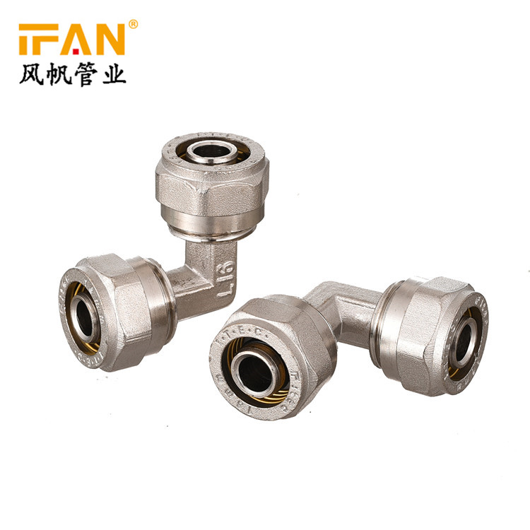 PEX Elbow 58-3 Brass Plumbing Material Brass Elbow Fitting 90 Degree Elbow PEX Brass Fitting Copper Elbow