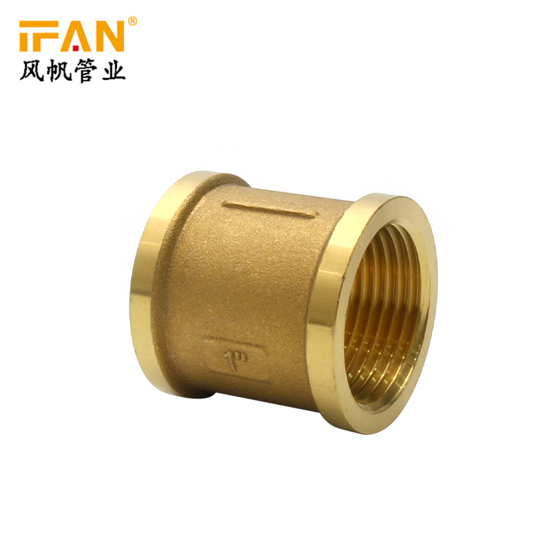 Brass Female Adapter Ifan wholesale yellow color standard pressure pex pipe fitting brass fiiting