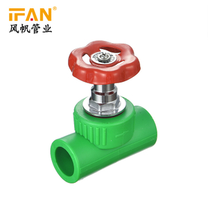 PPR Stop Valve (Iron Handle)