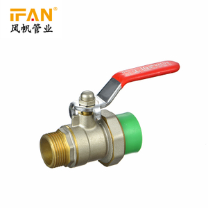 Male Union Brass Ball Valve